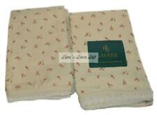 RALPH LAUREN Woodstock Calico Floral STANDARD PILLOWCASES SET NEW Supima Cotton