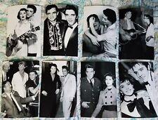 Elvis Presley: 36 Candid Photo Set w/ Various Celebrities,1950's-1 970's! New!