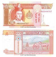 Mongolia 5 Tugrik 1993  P-53 Banknotes UNC