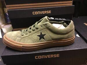 CONVERSE One Star OX Medium, Suede, U.K. size 9