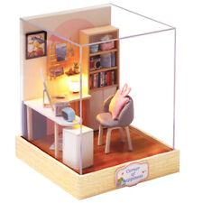 DIY Doll House Room Small Home Dollhouse Toys Miniature Kids Christmas Gift