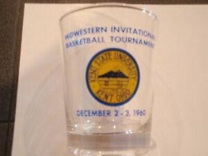 1960 Midwestern Invitational Basketball Tournament Glass
