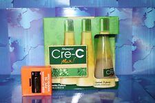 3 Bottles Shampoo Cre-C Max + PPC50 crece crec -Caida de Cabello-hairloss,mexico