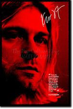 KURT COBAIN PHOTO PRINT POSTER GIFT 12x8