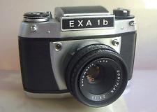 Schönes Sammlerstück: EXA 1b + Objektiv Domiplan  2,8/50mm - Funktionen ok