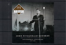 Montserrat 2013 MNH John F. Kennedy cinquantesimo Memorial IV S / S JFK Presidente degli Stati Uniti