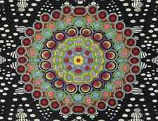 """3D HYPNO MOONS Psychedelic Tapestry/Wall Hanging 60""""x90"""" FREE 3D GLASSES"""