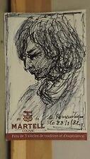 Attribué à Antoine Serra 1908-1995 dessin d'étude  Marseille
