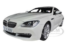 BMW 650i GRAN COUPE 6 SERIES F06 ALPINE WHITE 1/18  MODEL CAR BY PARAGON 97032