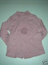 T-shirt bébé Fille hiver manches longues couleur Vieux Rose Taille 18 mois NEUF