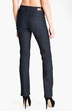 NWT PAIGE PREMIUM DENIM Jeans Kennedy High-Rise Straight Leg SZ 28 Tonal Stream