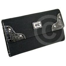 FREE Ship USA NWT Wallet GUESS SIGNS Slg Coal New Ladies Lovely Stylish