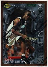 1996-97 TOPPS FINEST ROOKIE CARD RC #62: STEPHON MARBURY - TIMBERWOLVES