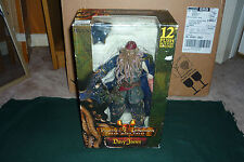 "NECA Pirates of the Caribbean Davy Jones 12"" Figure with Sound MISB IN BOX"