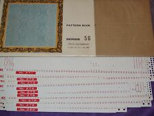 KNITTING MACHINE ACCESSORY'S PUNCH CARDS FOR STANDARD GAUGE MACHINES SERIES 56