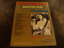 Elvis Presley's Greatest Hits---Sheet Music---120 Songs---304 Pages