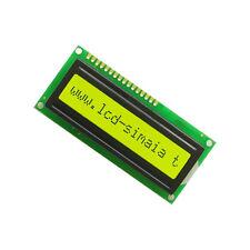 Yellow 1601 16X1 Character LCD Display Module LCM STN SPLC780D / KS0066  CA