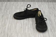 **VANS Authentic Canvas Lace Up Shoe - Toddler's Size 10 - Black