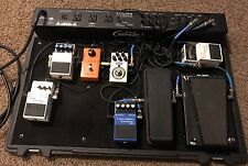 skb powered pedal board With 8 Pedals