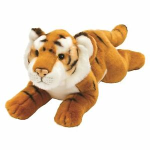 """Yomiko Classic Jungle Tiger  10"""" Stuffed Animal by Russ Berrie"""