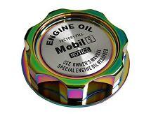 NEOCHROME MOBIL 1 M7-STYLE JDM CNC BILLET ENGINE OIL FILLER CAP FOR HONDA ACURA