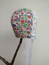 Handmade Liberty Babies Bonnet Age 12-18 Months
