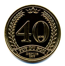 85 LE PUY DU FOU 40 ans, 2017, Monnaie de Paris