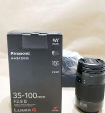 New Panasonic Lumix G X Vario 35-100mm f/2.8 II POWER O.I.S. Lens