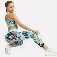 Women Yoga Pants Sling Trousers Push Up Leggings Sexy Gym Fitness Scrunch Sports