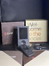 New listing Microsoft Zune 30 Silver (30 Gb) Digital Media Player