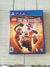 Lego Disney Pixar's The Incredibles - PlayStation 4 • Ps4 - Very Good Condition