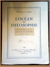 L'OCEAN DE THEOSOPHIE William Q. Judge en 1946 - Philosophie Sociétés secrètes