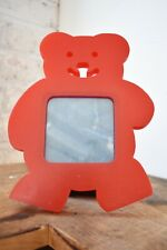 Red Bear Picture Frame