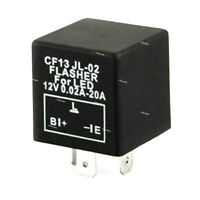 Universial 3-Pin Fix LED Flasher Flash Relay for Turn Signal Lamp Hyper Flash