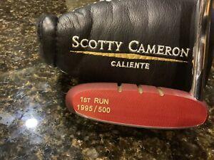 """1995 Scotty Cameron """"Grand Bolero"""" 1st Of 500 RARE!!"""