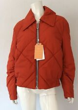 BURBERRY Orange Quilted Bomber Jacket From VESTAIRE Instagram Jacket
