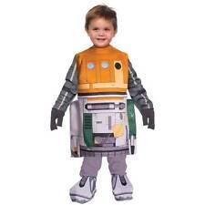 DISNEY Child Toddler Boy 2-4 2T-4T STAR WARS REBELS Chopper Halloween Costume