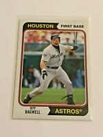 2020 Topps Archives Baseball 1974 Style - Jeff Bagwell - Houston Astros
