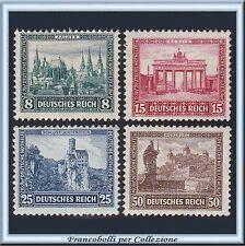 1930 Deutsches Reich Beneficienza n. 431/434 Nuovi Integri ** Germania