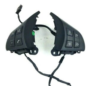 Genuine BMW X5 E70 M Sport steering wheel, pair of MFSW switches buttons. 19B1