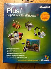 Spiele MS Plus, SuperPack für Windows XP Kreativ Foto, Video Musik Film Diaschau