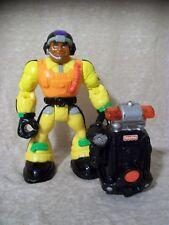 """6"""" Rescue Heroes Action Figure + Accessory, Yellow/Orange, Helmet"""