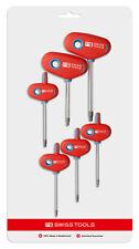 PB Swiss Tools PB 1441.CN Screwdriver Set Torx with Cross-Handles T8-T25 6-Piece