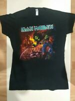 Iron Maiden T Shirt From Fear To Eternity Womens Black Colour Print Size XL