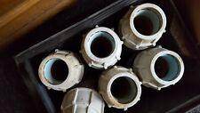 Plasson Kupplung 50 x 50 mm Verbinder  PE-Rohr DVGW-W 180100050 gebraucht