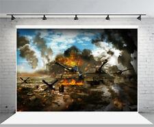 War world Vinyl Photography Backgrounds Studio Props Backdrops 5x3ft