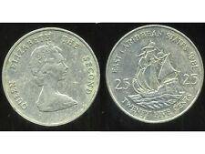 est CARAIBES 25 cents  1981