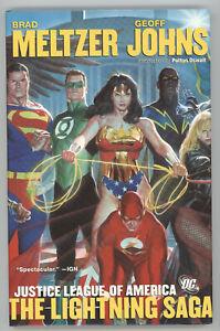 Justice League America Lightning Saga HC DC 2008 8 9 10 11 12 Society 5 6