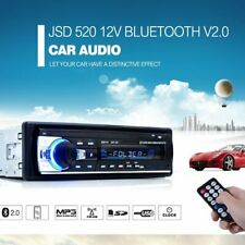 Bluetooth Car Radio MP3 Player Stereo In-Dash 1 Din FM Aux Input Receiver SD USB