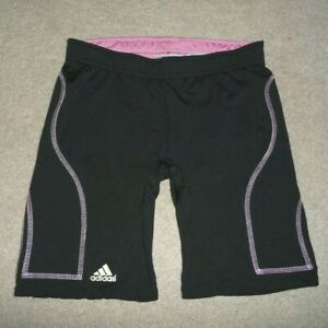Adidas Climalite Goalie Soccer slider Compression Padded Shorts Girls Youth L